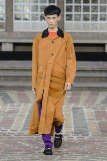Kenzo весна лето 2018 мужская коллекция пальто