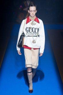 Gucci весна лето 2018 юбка