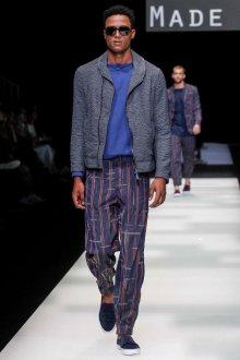 Giorgio Armani весна лето 2019 мужская мода