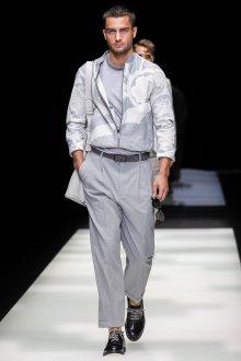 Giorgio Armani весна лето 2019 мужская куртка с принтом
