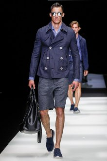 Giorgio Armani весна лето 2019 мужские шорты