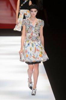 Giorgio Armani весна лето 2019 платье