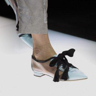 Giorgio Armani весна лето 2019 туфли