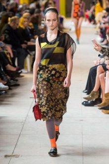 Miu miu весна лето 2018 платье с вышивкой
