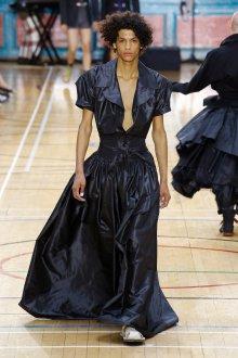 Vivienne Westwood весна лето 2019 блестящее платье