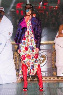 Vivienne Westwood весна лето 2019 цветочное платье