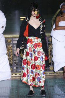 Vivienne Westwood весна лето 2019 длинная юбка