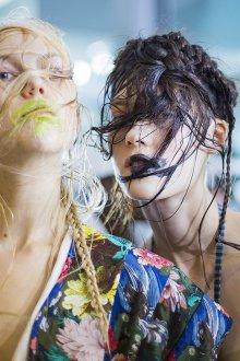 Vivienne Westwood весна лето 2019 макияж