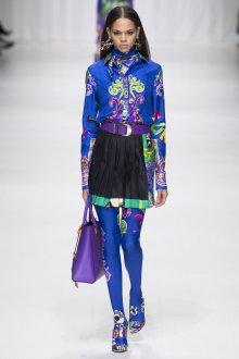 Versace весна лето 2018 блузка