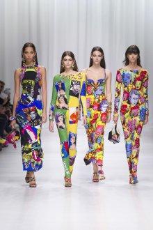 Versace весна лето 2018 дефиле