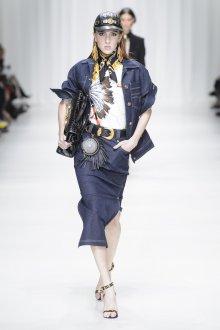 Versace весна лето 2018 деним