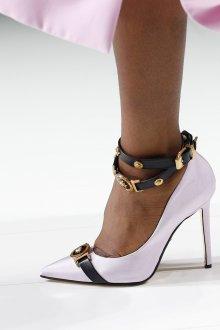 Versace весна лето 2018 туфли лодочки