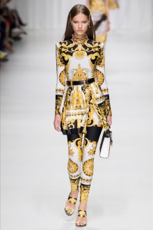 Versace весна лето 2018 мода