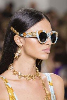 Versace весна лето 2018 очки
