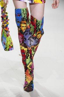 Versace весна лето 2018 сапоги