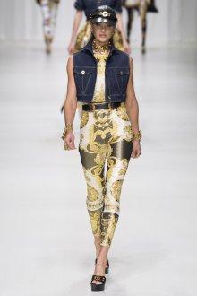 Versace весна лето 2018 жилет