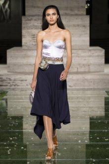 Salvatore Ferragamo весна лето 2021 платье бюстье