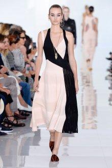 Roberto Cavalli весна лето 2019 асимметричное платье