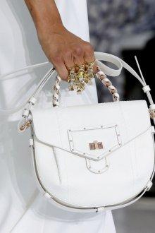 Roberto Cavalli весна лето 2019 белая сумка