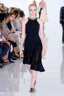Roberto Cavalli весна лето 2019 платье плиссе