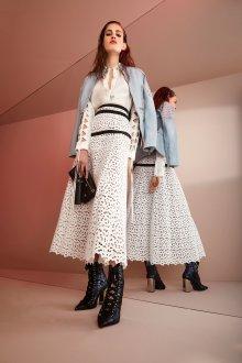 Roberto Cavalli круизная коллекция 2019 ажурная юбка