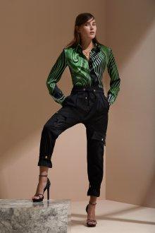 Roberto Cavalli круизная коллекция 2019 блузка