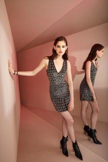 Roberto Cavalli круизная коллекция 2019 короткое платье