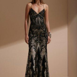 Roberto Cavalli круизная коллекция 2019 кружевное платье