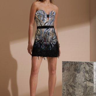 Roberto Cavalli круизная коллекция 2019 коктейльное платье