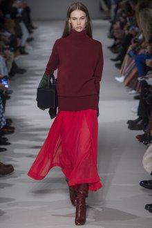 Бордовая юбка прозрачная
