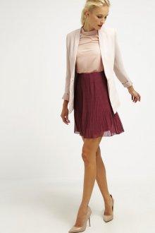 Бордовая юбка шифоновая