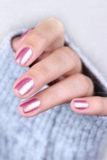 Пастельный маникюр розовый