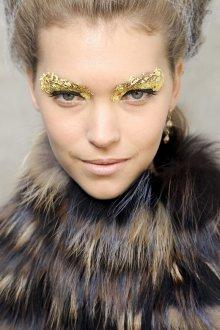 Золотой макияж идеи