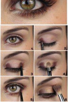 Золотой макияж инструкция