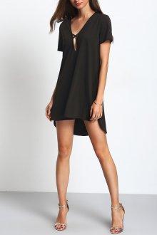 Платье трапеция асимметричное
