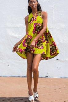Платье трапеция этническое
