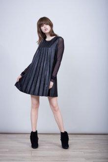 Платье трапеция плиссе