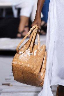 Кожаная сумка женская бежевая