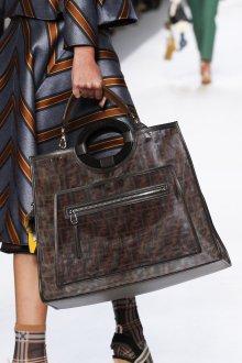 Кожаная сумка женская большая