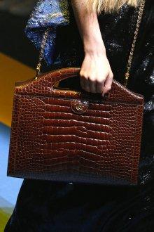 Кожаная сумка женская деловая коричневая