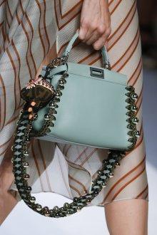 Кожаная сумка женская маленькая бирюзовая