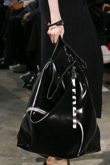 Кожаная сумка мешок черная