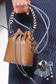 Кожаная сумка мешок маленькая