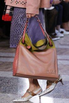 Кожаная сумка женская плетеная розовая