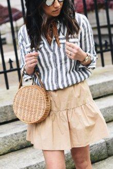 Бежевая юбка тенденции