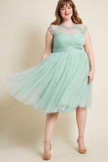 Свадебное платье для полных бирюзовое