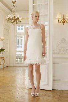 Свадебное платье для полных короткое