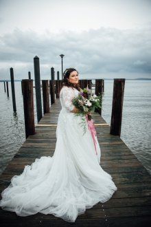 Свадебное платье плюс сайз