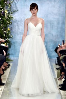 Свадебное платье для полных шифоновое