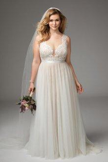 Свадебное платье для полных стильное